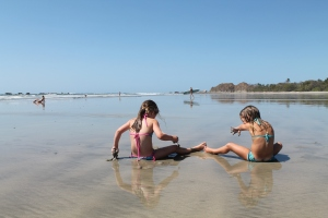 Sand, sun and surf